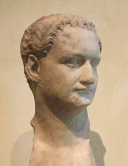 Domitian's happy face